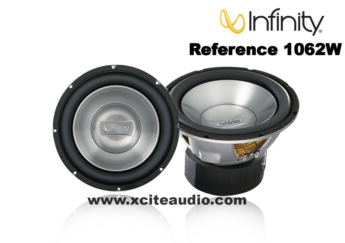 Infinity Reference 1062W 10' 275W  Reference Series Dual 4Ohm Car Sub