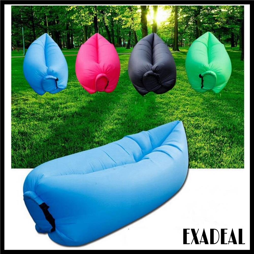 Inflatable Lazy Bed Wind Bed Bag Air Sofa Lamzac Portable Sleeping Bed