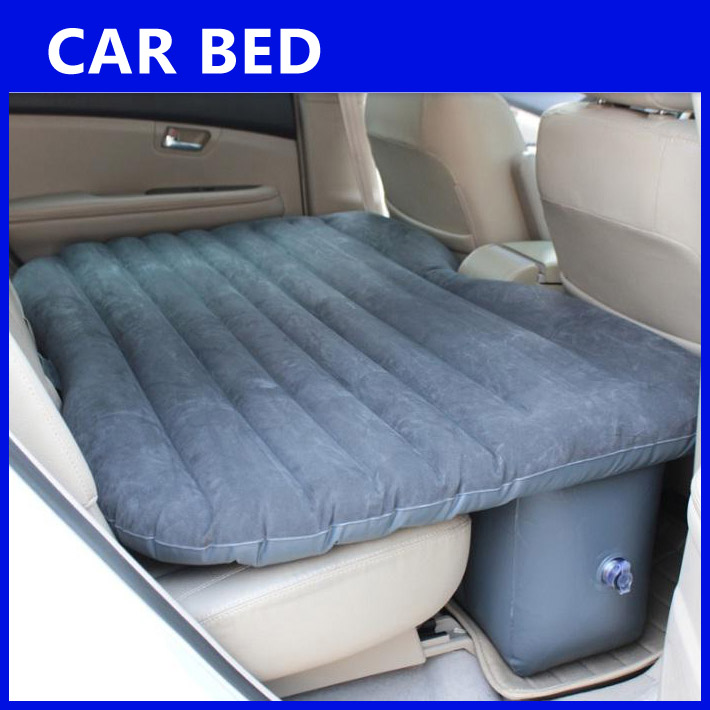 Inflatable portable car air bed mat end 4 30 2017 11 19 am for Wall pillow for bed