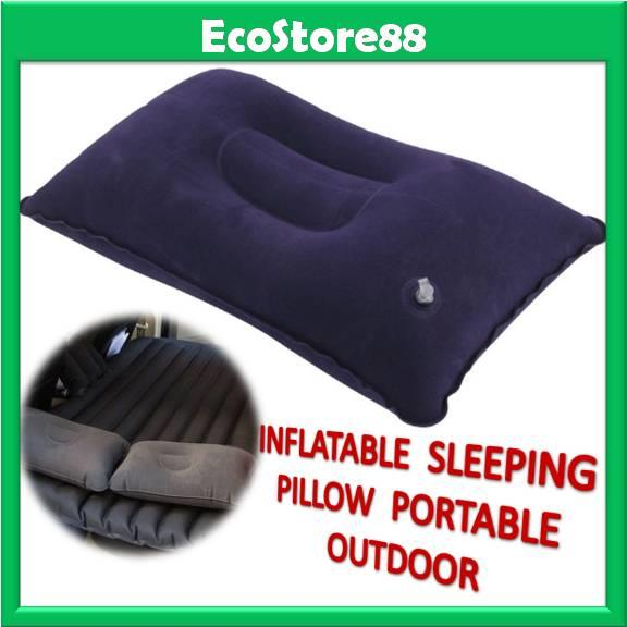 Inflatable Sleeping Pillow Portable Outdoor