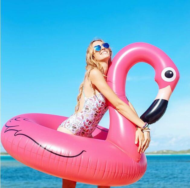 The Inflatable Swan Float