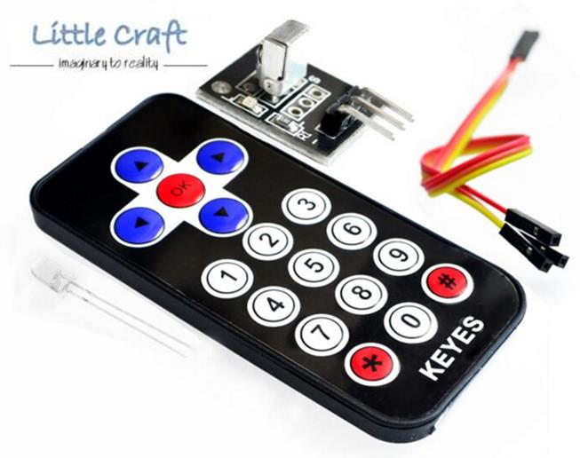 Infrared IR Wireless Remote Control Module Kits for Arduino, Respberry