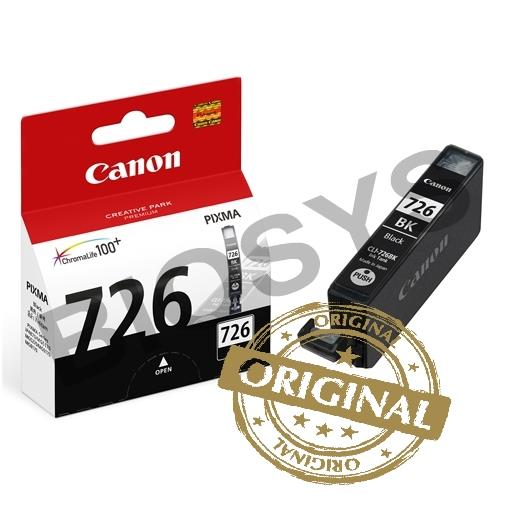 INK CANON CLI 726 BLACK ORIGINAL