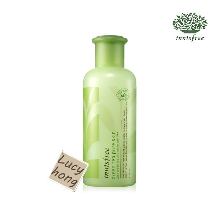 Innisfree green tea pure skin