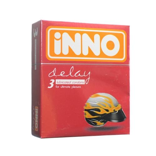 iNNO Delay Condoms (Long Lasting / Long Shock / Tahan Lama) 3's