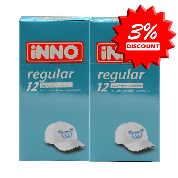 iNNO Regular Condom 12's (For Unforgettable Experience )