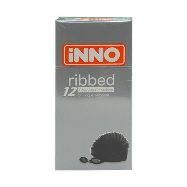 iNNO Ribbed Condom / Kondom (For Unique Sensation) 12 pcs