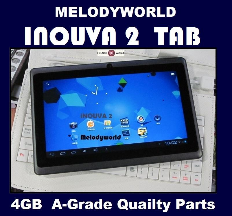Inouva2 *4GB* Tablet ALLWINNER A13 IPAD LCD CAPACITIVE