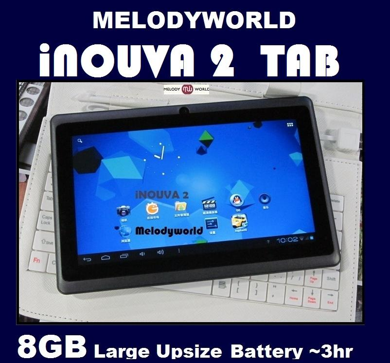 Inouva2  *8GB*  Tablet  ALLWINNER A13  IPAD LCD CAPACITIVE