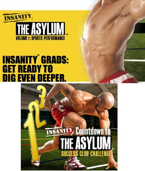 INSANITY ASYLUM Complete Home Fitness System in 2DVDs by Shaun T