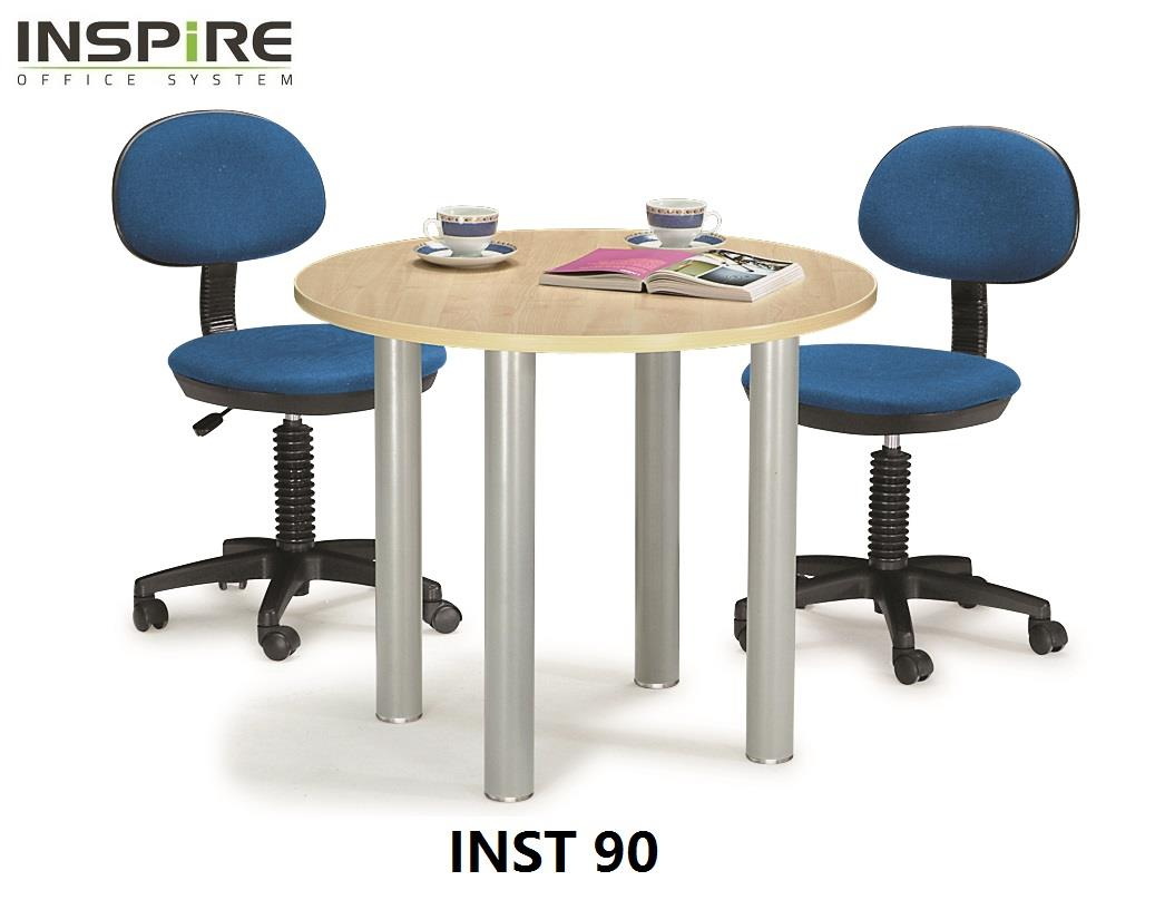 Inspire INST 90 Round / Discussion / Meeting Table