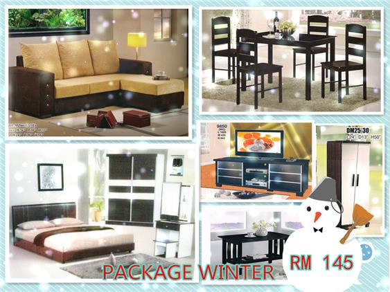 INSTALLMENT PLAN 7 IN 1 HOME FURNITURE PACKAGE WINTERES