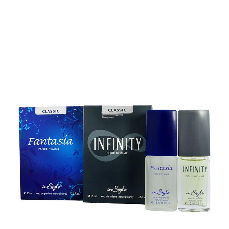 InStyle Couple Package 2x15ML Perfume/Fragrances