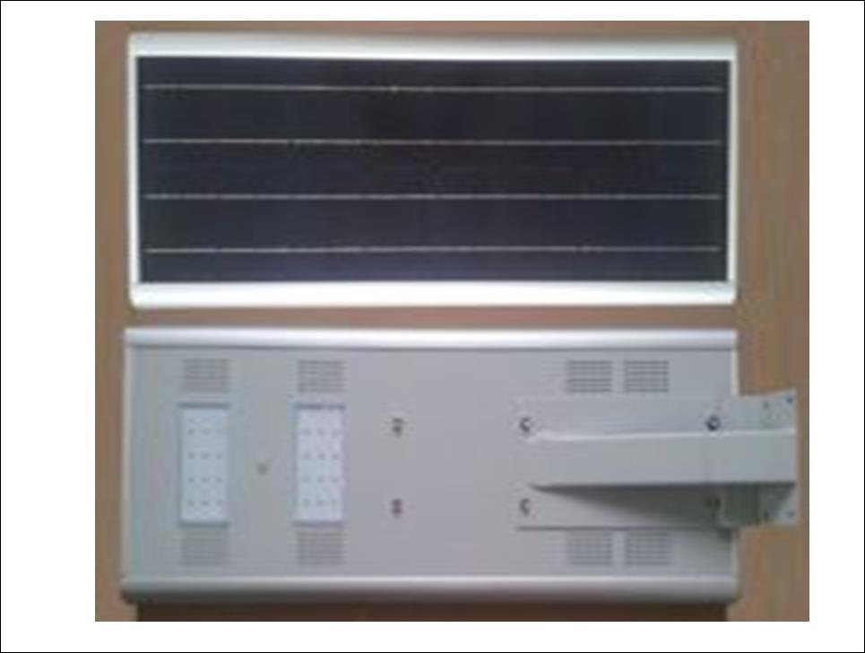 INTEGRATED SOLAR LED LIGHT SEM-R-240 18V 60W