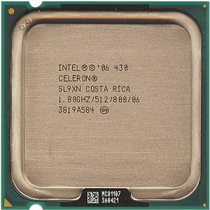 Intel Celeron Processor 430 1.80GHz 512K Cache Socket 775 LGA775 CPU