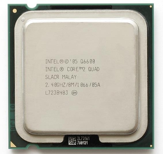 Intel Core 2 Quad Q6600 2.4GHz LGA775 8MB L2 Cache FSB1066MHz