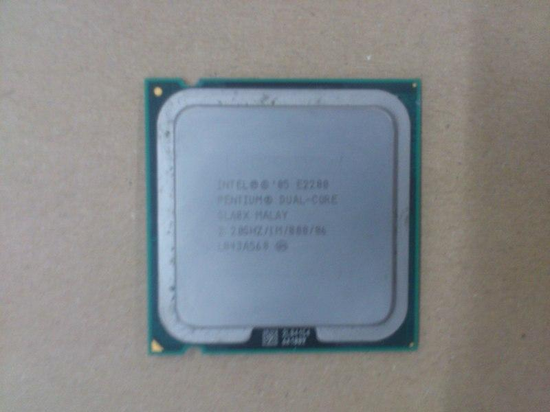 Intel E2200 2.2Ghz Dual Core processor 081212