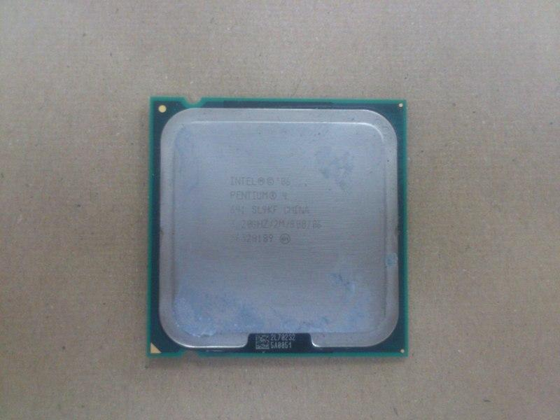 Intel P4 641 3.2Ghz Socket 775 Processor 311212