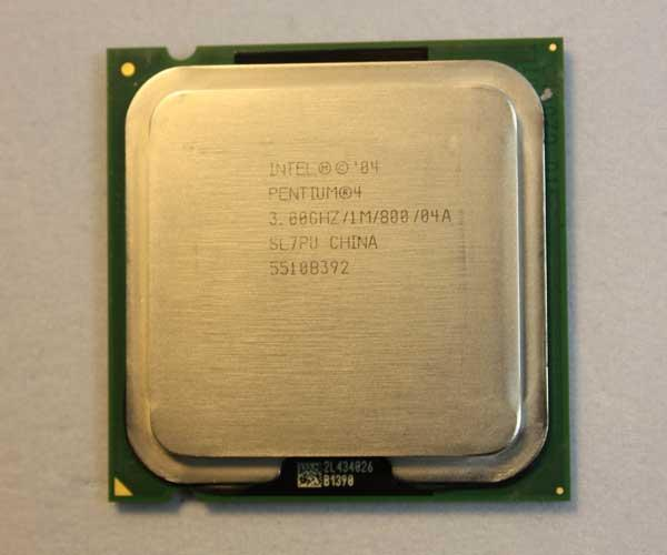 Intel� Pentium 4 530 530J 3.0GHz 3Ghz 1MB Socket 775 LGA775 processor