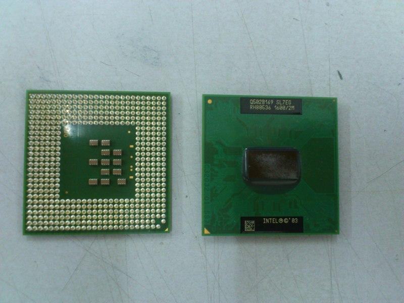 Intel Pentium M Processor 725 1.6Ghz for Notebook 190713
