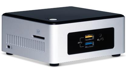 INTEL NEXT UNIT OF COMPUTING KIT (NUC) NUC5PPYH MINI PC