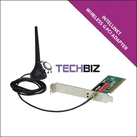 INTELLINET WIRELESS G PCI ADAPTER 802.11G, 54MBPS