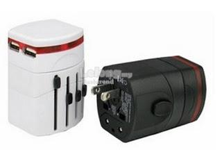 International Travel Adapter Include 2 USB Ports (Free Shipping)