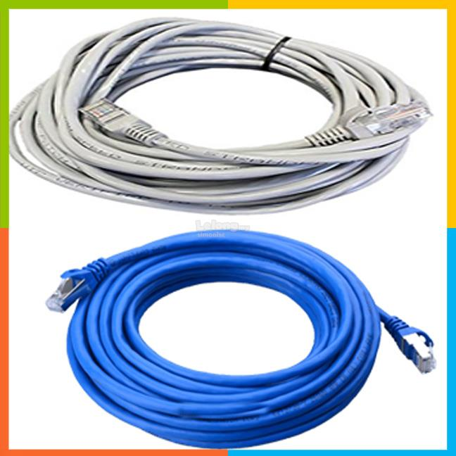 Internet network lan RJ45 ethernet cable Cat5e 30 meter