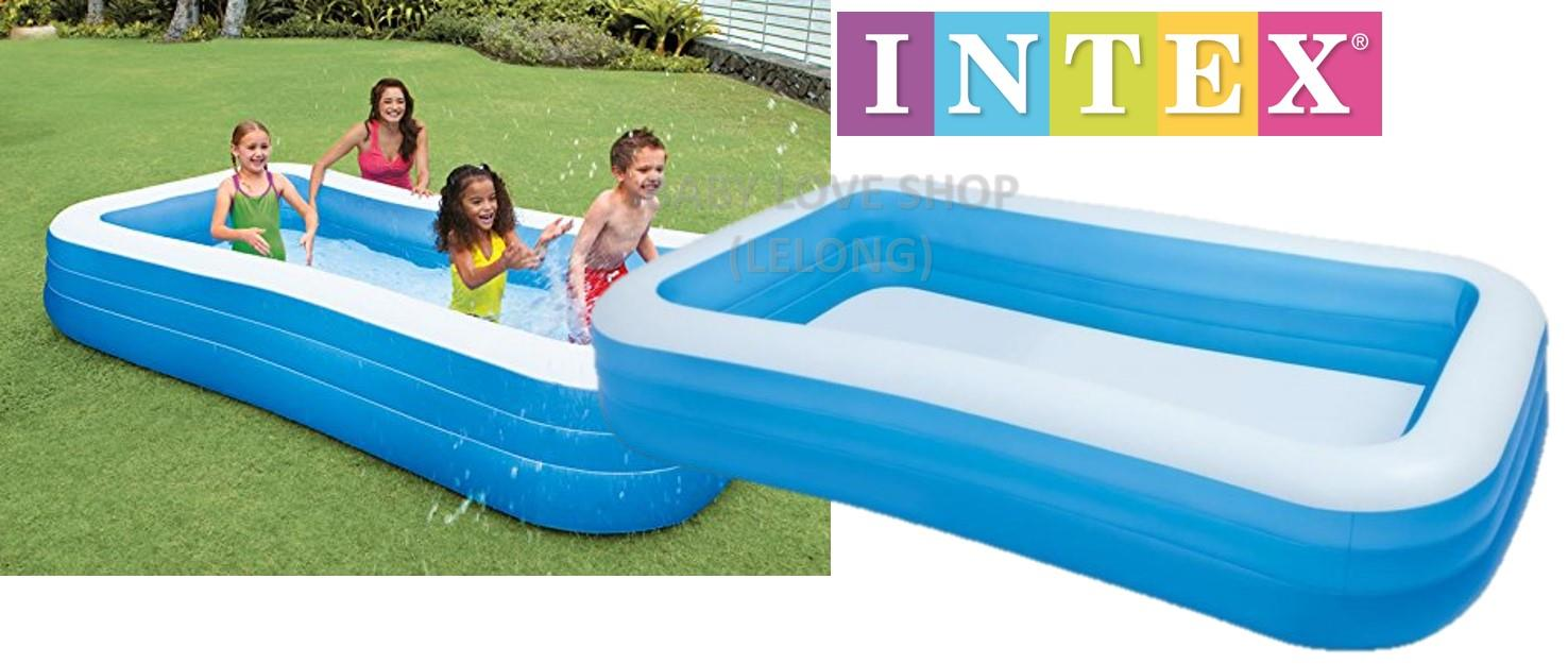 Intex swim center family inflatable end 10 4 2017 10 20 am for Intex pool 120 hoch