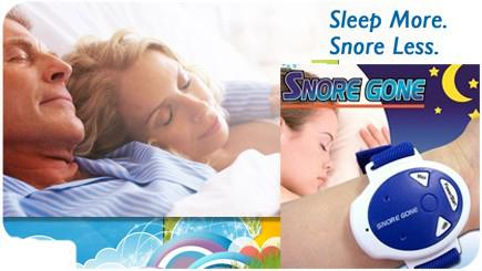 INTRO SALES SNORE GONE ANTI SNORING DEVICE AS SEEN ON TV PRODUCT