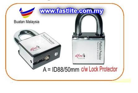 IOWA High Security Padlock c/w Padlock Protector (50 mm)