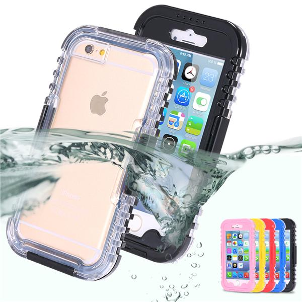 Ip 6/6Plus/Note 4/Note5/S6 Edge  waterproof heavy duty Protective Case
