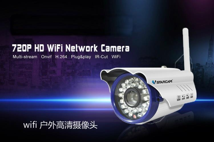IP Camera Outdoor Waterproof WiFi Wireless CCTV C7815WIP Night Vision