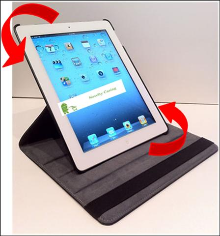 iPad 2 iPad2 Leather case - 360◦ Rotate