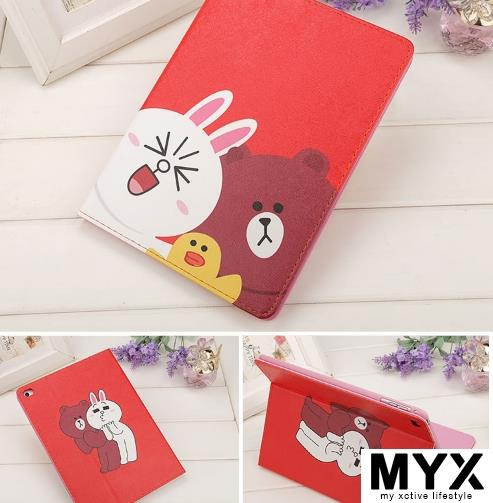 iPad 234 Line Cute Casing Case Cover