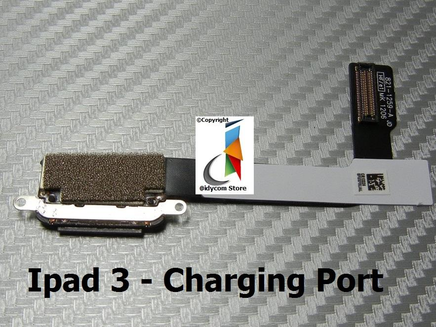 Ipad 3 Charging Port Flex Cable Replacement