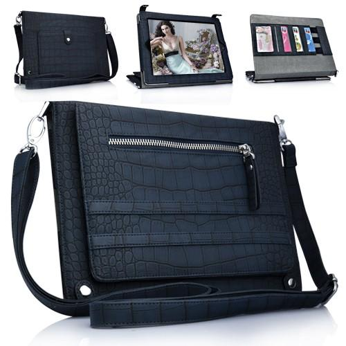 iPad 4 3 iPad3 ipad2 ipad 2 Leather Bag case - Briefcase