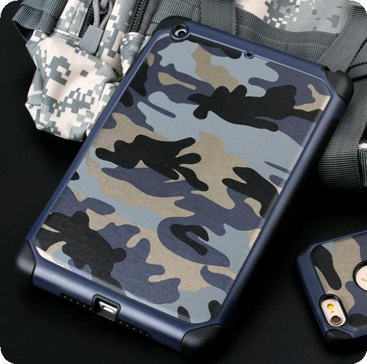 iPad Mini 1/2/3/4 Armor Shock Proof Army Casing Case Cover