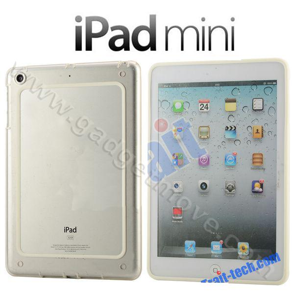 iPad mini 1 2 3 Transparent Bumper TPU SGP Frame Back Cover Case