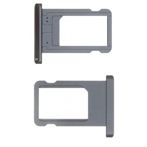 ipad Mini 2 Mini2 Metal Nano Sim Card Tray SimCard Slot Holder (Black)