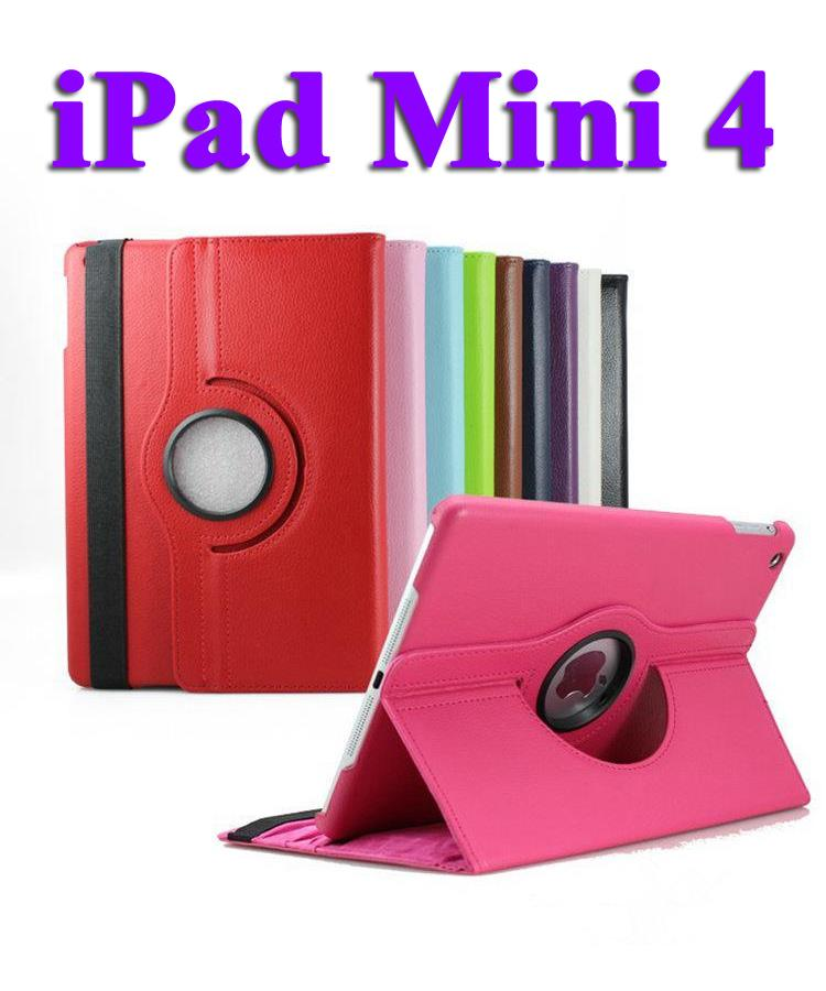 Ipad Mini 4 360 Rotate PU Leather Case