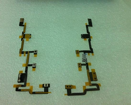ipad2 Mute Power On/Off Volume Ribbon Flex Cable Ribbon ipad 2
