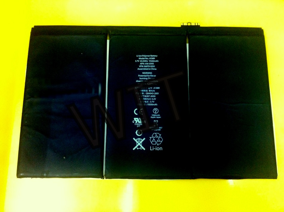 ipad3 ipad4 Battery 11500mAh Power Sparepart ipad 3 4 3g Wifi