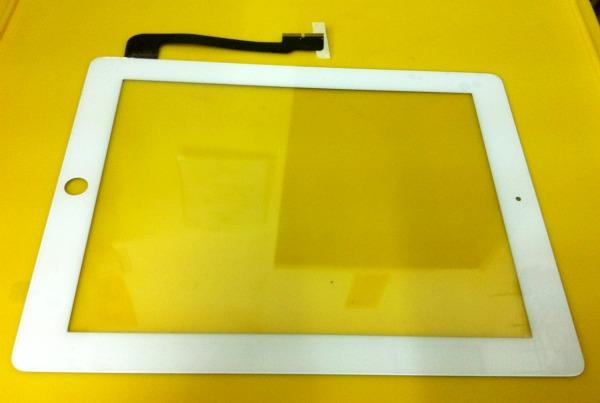 ipad3 ipad4 Glass Digitizer Lcd Touch Screen White ipad 3 4