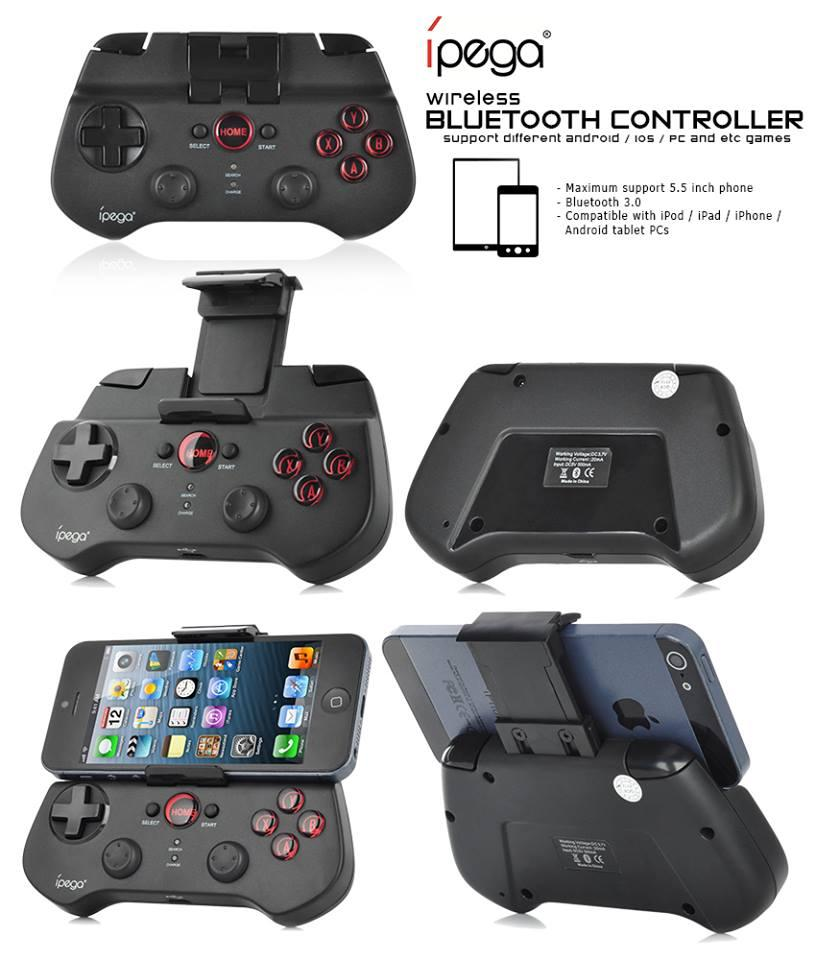 iPega Wireless Bluetooth Gaming Controller PG-9017S for Smartphones an
