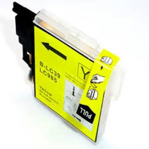 IPG. BROTHER INK CARTRIDGE LC-39 YELLOW 260 PAGES