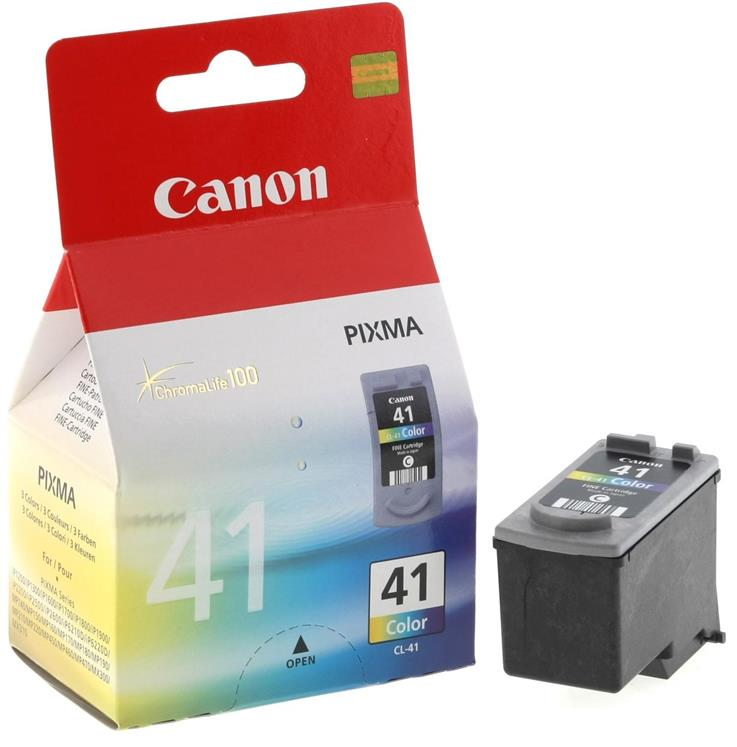 IPG. CANON INK CARTRIDGE CL-41 TRI-COLOR 300 PAGES