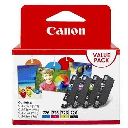 IPG. CANON INK CARTRIDGE CLI-726 COLOR VALUE PACK 300 PAGES