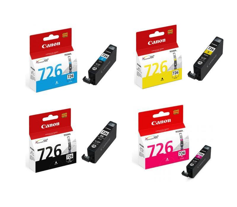 IPG. CANON INK CARTRIDGE CLI-726 COLOR VALUE PACK 300 PAGES X3