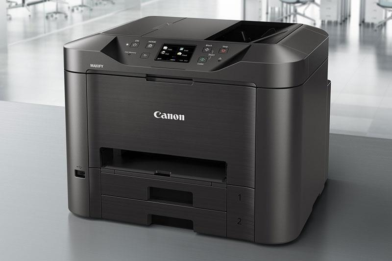 IPG. CANON PRINTER INKJET COLOR MFP MAXIFY MB5370 (P/S/C/F/N/W/DADF)